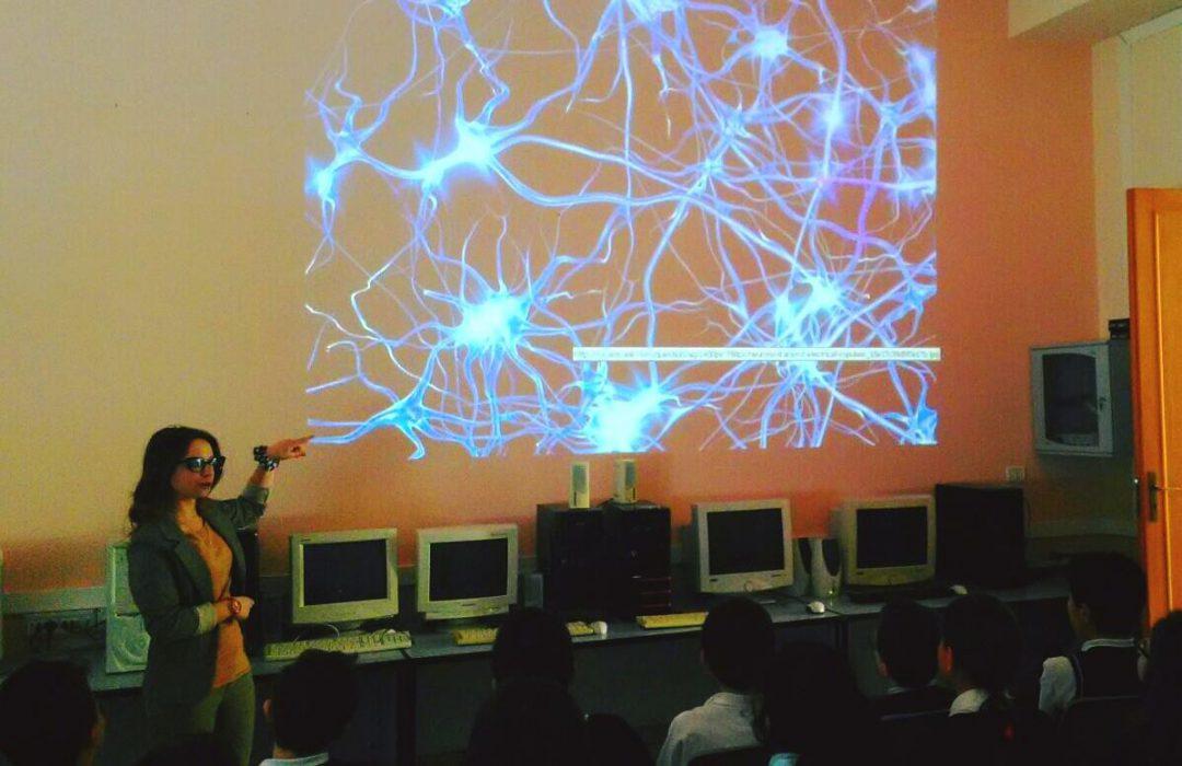 la dott.ssa Ruggeri spiega le reti neurali