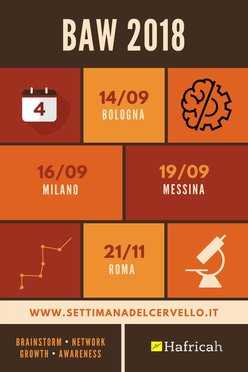 calendario incontri organizzatori