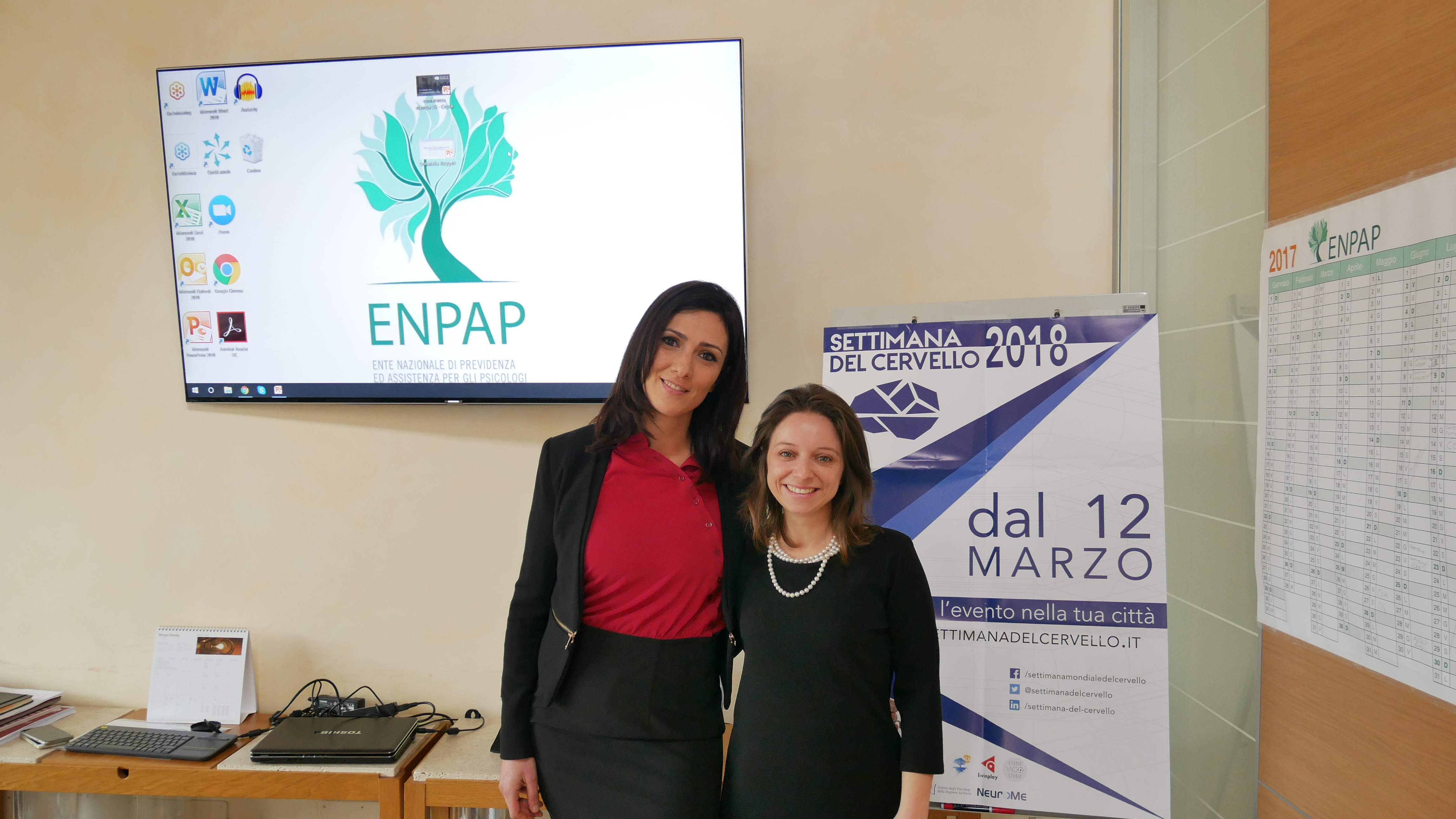 Donatella Ruggeri ed Elisabetta Grippa